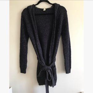 Forever 21 knit hooded cardigan